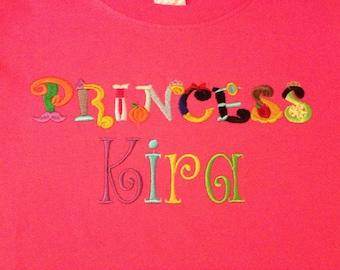 Princess t-shirt or onesie