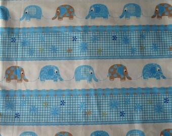 Elephant fabric - half yd