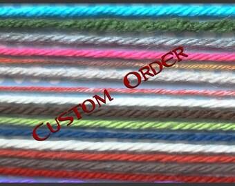 CUSTOM ORDER reserved for Cheryl Justman