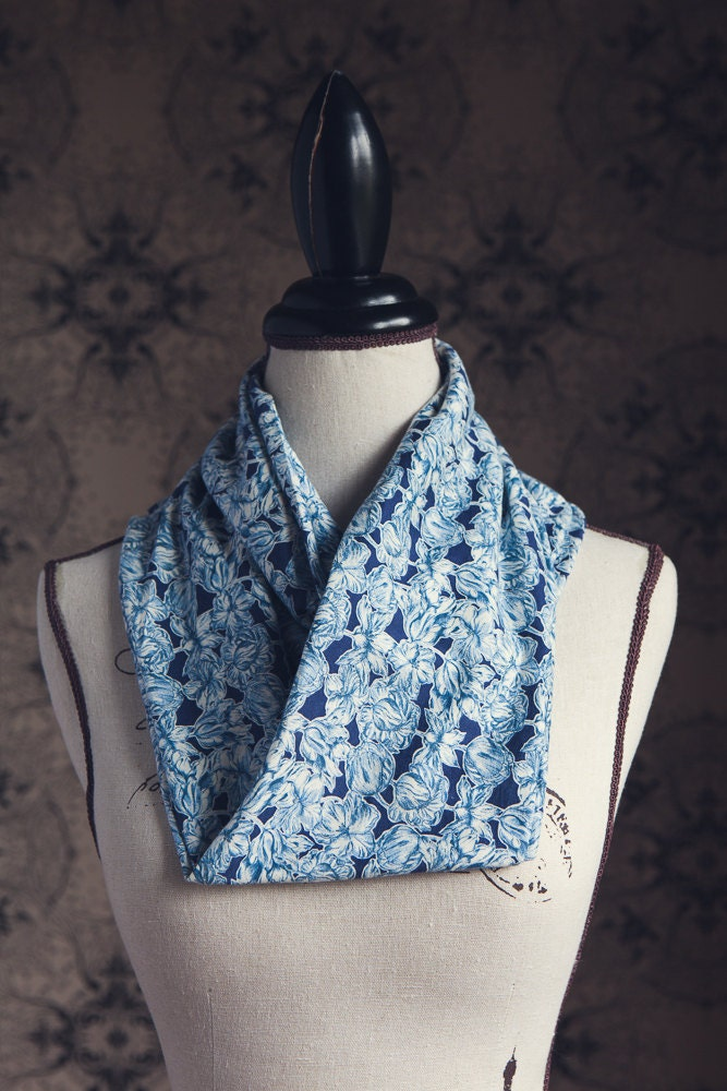 liberty of jersey infinity scarf in matilda