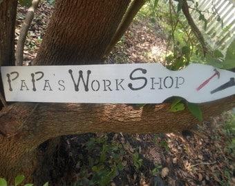 PAPA'S WORKSHOP