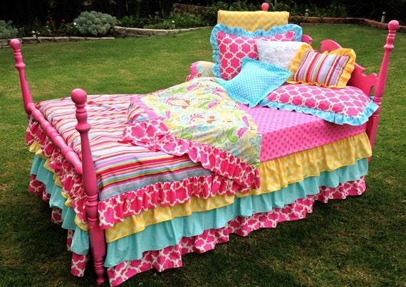 Items Similar To Custom Bedding Striped Kumari Garden On