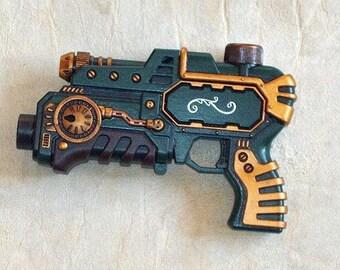 Steampunk Pistol Victorian Gothic Retro Space Gun