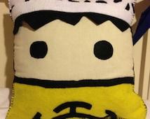 Trafalgar Law Themed One Piece Pillow