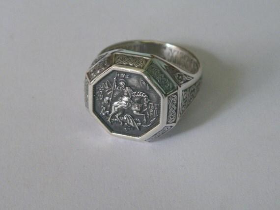 oxidized 925 sterling silver russian by friendsjewelryinc