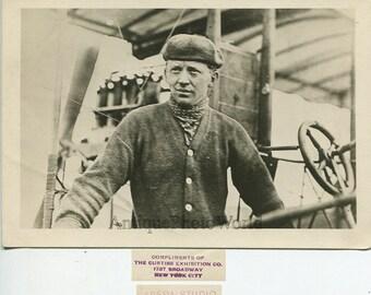 Robert St. Henry aviator pilot antique aviation photo