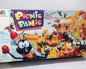 Picnic Panic Game from Milton Bradley 1992 COMPLETE (read description)