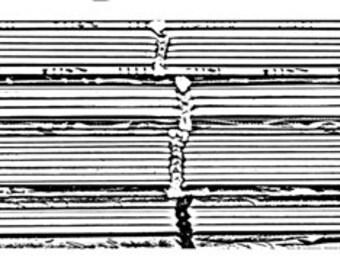 Book spine rubber stamp