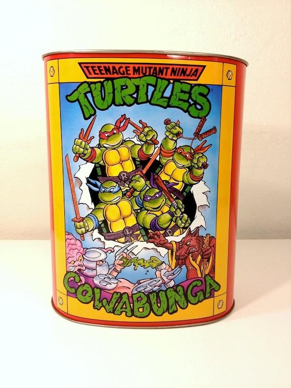 Teenage Mutant Ninja Turtles Garbage Can 89