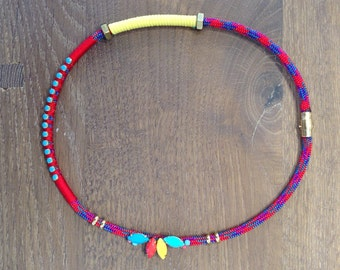 Primary Hex Necklace