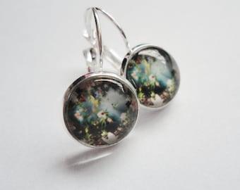 Earrings colourful