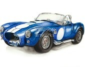 Blue AC Cobra