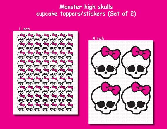 ... Skull Wallpaper , Monster High Skull Template , Monster High Skull