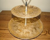 Weeping - Bright Tiered Serving Tray