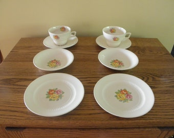 Snack Serving Set for Two Royal China