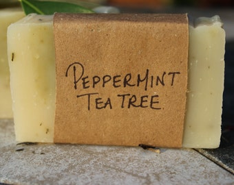 Tea Tree & Peppermint Soap