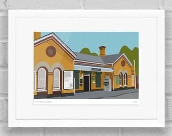 Sydenham Station, London - Limited Edition Giclée Art Poster/Print
