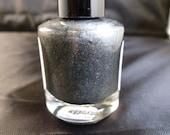 Black Cat---handmade glitter nail polish