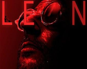 Leon - The Professional - Alternative Poster