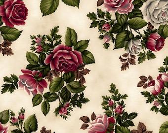 Tatiana Bouquet Ivory/Red 1550-03