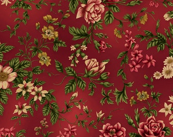 Tatiana Rambling Rose Crimson 1552-02