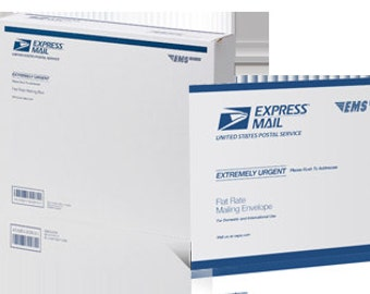 USPS Express Mail (overnight) Shipping option