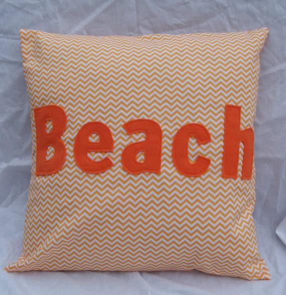 Beach Home Decor Pillows: Beach House Decor Beach House Pillow Applique Pillow
