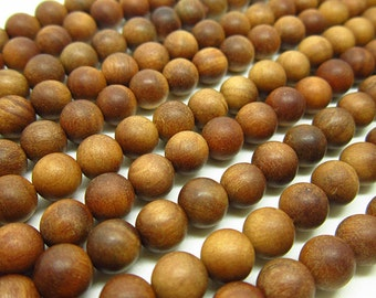 108pc  8mm Fragrant Sandalwood  Mala Bead
