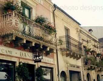 "Venice, Italy ""Balconies of Venice"" Fine Art Photograph, Travel Photography, Gondola, Gondolier, Boat, Wall Decor, Grand Canal"