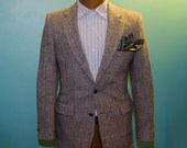Harris Tweed - USA Tailored Sportcoat / Blazer with Serial Number