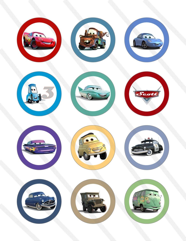 Disney Pixar Cars Lightning Mcqueen Custom Birthday Party 2