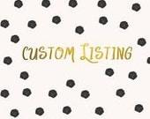 Custom Listing for lisap8820