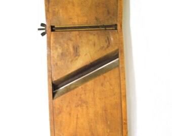 1940s Wood Cabbage Slicer