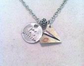 "Disney's ""Paperman"" Inspired Charm Necklace"