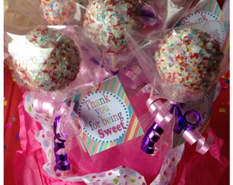 Candy Themed Thank You Tags