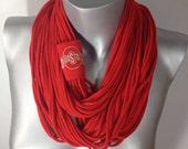 The Ohio State, Big Ten, infinity scarf, cowl, football
