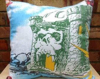 He-Man Skeletor Castle Greyskull Teela Zodac Vintage Cushion Selection -  Handmade by Alien Couture
