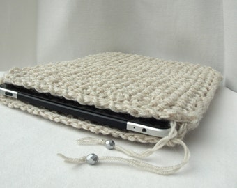 Hand Knitted iPad Cases / Eco-Friendly Cases