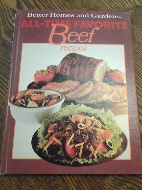 On Sale Better Homes And Gardens Beef Cookbook 1977