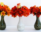 Fall Silk Floral Arrangement - Set of Three