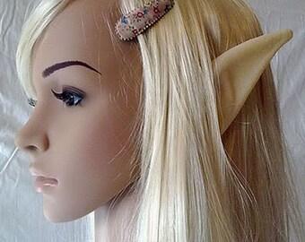 Elf Ears Latex Prosthetic - Cosplay - LARP - Link Zelda, Elven fantasy character