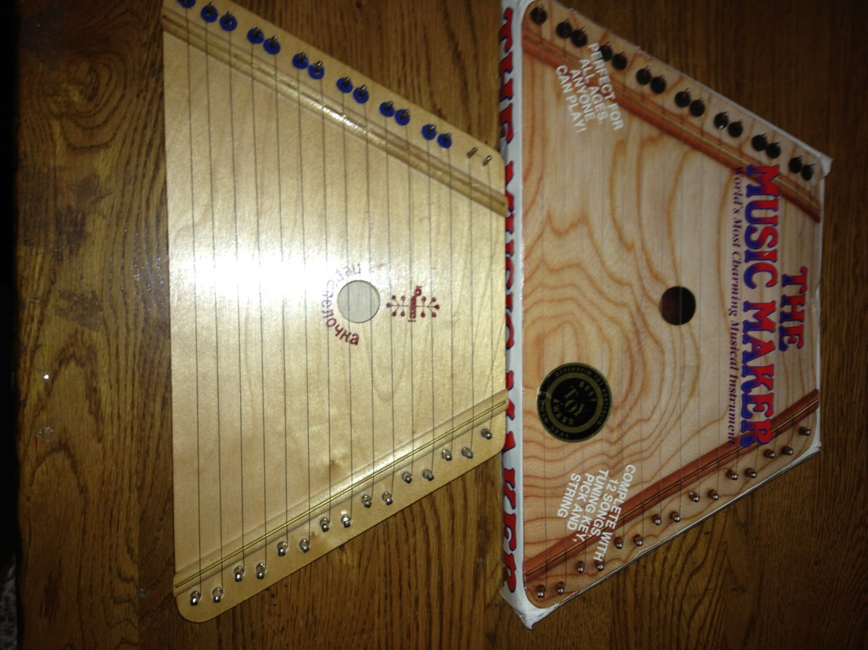lap harpsichord - photo #5
