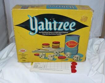1972 Yahtzee Game