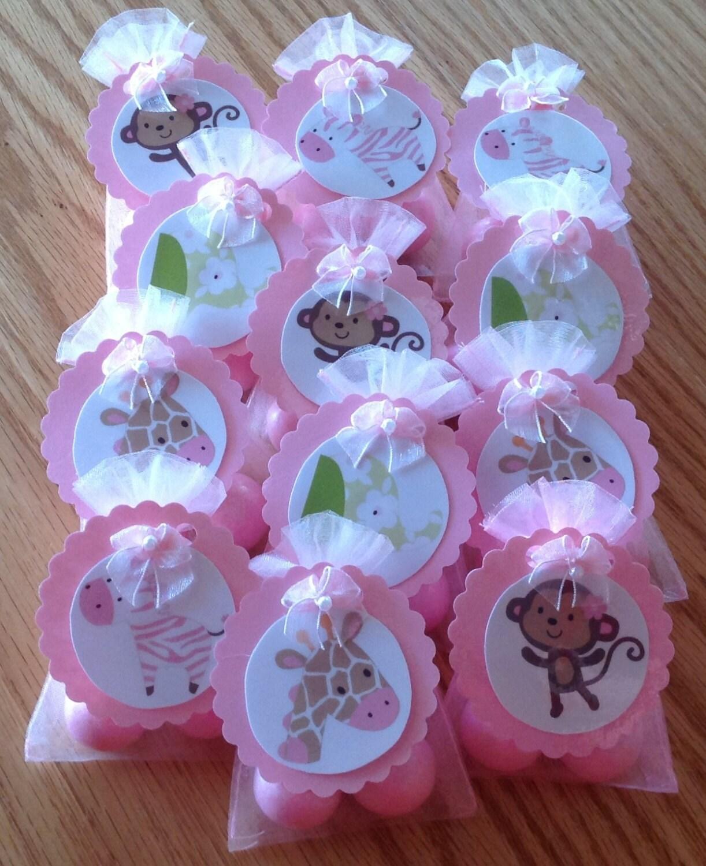 Jungle jill monkey baby shower party favors set of 12 - Monkey baby shower favors ideas ...