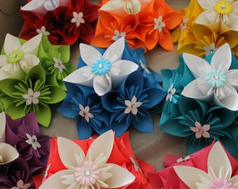 Origami Kusudama Decorations