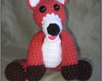 Tod the Fox Crochet Pattern