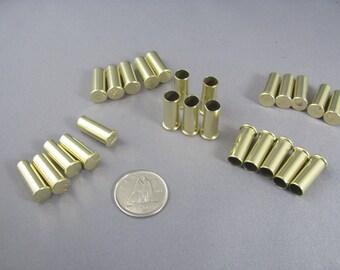 Lot of 25 Bullet shells, ,22 caliber casing, once fired brass