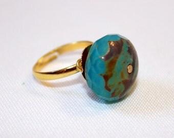 Earth Tone Ring