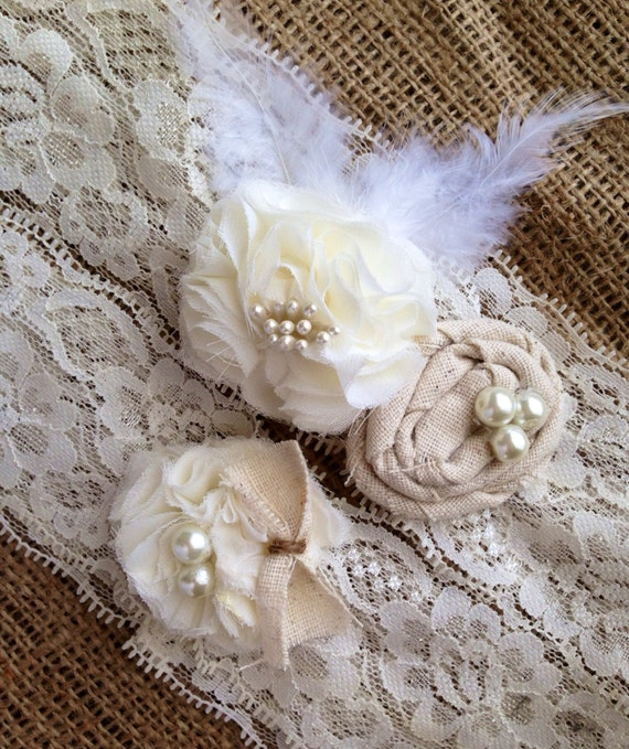 Country Wedding Garters: Rustic Country Garter Bridal Wedding Garter By