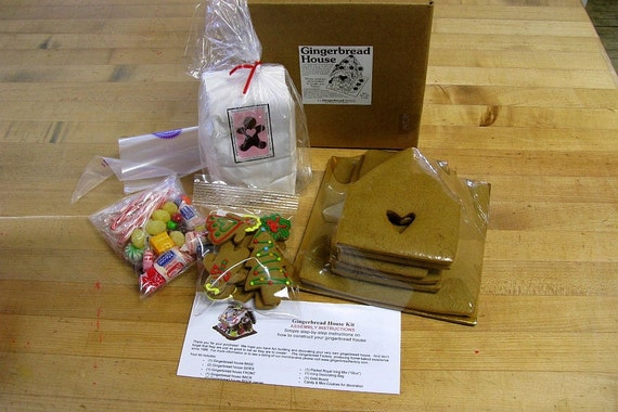 Large Deluxe Kit Gingerbread House Diy Do It By Thegbf